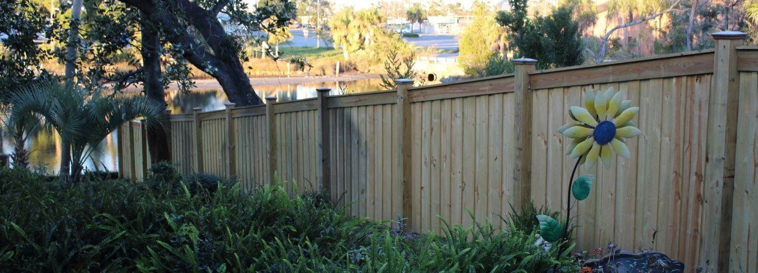 Panama City Wood Fences: The Basics